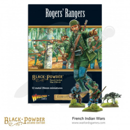 French Indian War - Rogers's Rangers - 12 pieces