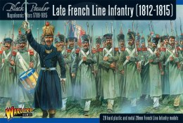 Late French Line Infantry (1812-1815) - 28 pcs