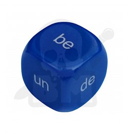 English prefixes dice