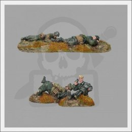 Dead & wounded SS infantry 1:72