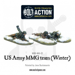 US Army MMG team (Winter) - 3 pcs