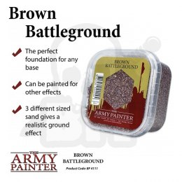 Army Painter Basing Brown Battleground 2019