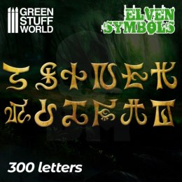 Elven Runes and Symbols - 300 letters