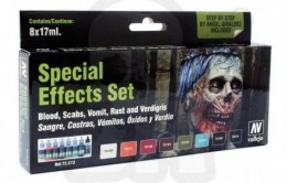Vallejo 72213 Zestaw Game Color 8 farb Special Effects