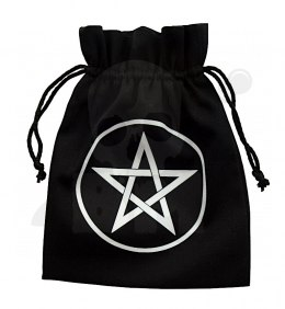 Pentagram Dice Bag 15x12cm