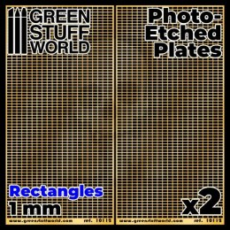 Photo-etched Plates - Large Rectangles