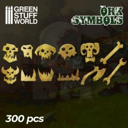 Ork Runes and Symbols - 300 letters