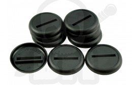 Plastic Bases - Round 30 mm BLACK