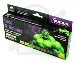 Vallejo 72304 Zestaw Game Color 8 farb - Orcs & Goblins