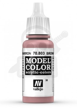 Vallejo 70803 Model Color 17 ml Brown Rose