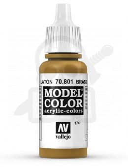 Vallejo 70801 Model Color 17 ml Brass
