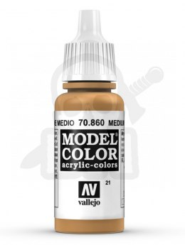 Vallejo 70860 Model Color 17 ml Medium Fleshtone