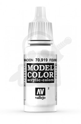 Vallejo 70919 Model Color 17 ml Foundation White