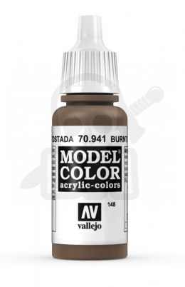 Vallejo 70941 Model Color 17 ml Burnt Umber