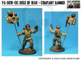 Dogs of War - Company Banner 1 szt.