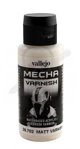 Vallejo 26702 Mecha Matt Varnish 60 ml.