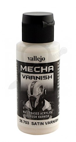 Vallejo 26703 Mecha Satin Varnish 60 ml.