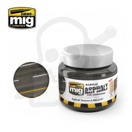 Ammo Mig 2107 Acrylic Asphalt Texture Ground 250ml