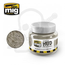 Ammo Mig 2101 Acrylic Mud Dry Earth Ground