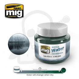 Ammo Mig 2202 Lake Water 250ml