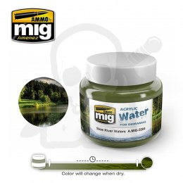 Ammo Mig 2204 Slow River Water 250ml