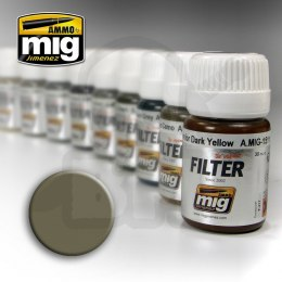 Ammo Mig 1507 Filter Tan For Yellow Green