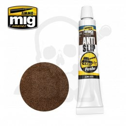Ammo Mig 2035 Anti-Slip Paste - Brown Color For 1/35