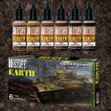 Green Stuff Liquid Pigments Set - Earth