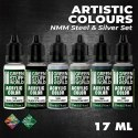 Green Stuff Paint Set - NMM Steel and Silver
