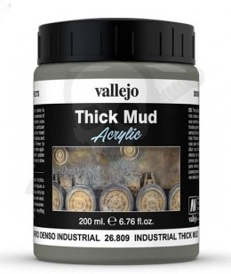 Vallejo 26809 Weathering Effects Thick Mud 200 ml. Industrial Mud