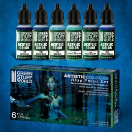 Green Stuff Paint Set - Blue