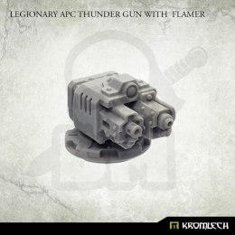 Legionary APC Thunder Gun with Flamer