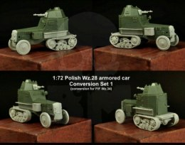 1:72 Polish Wz.28 Conversion set #1
