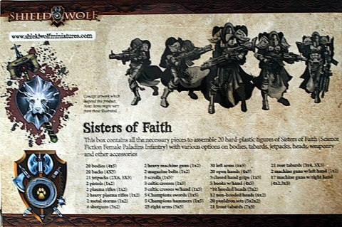 Sisters of Faith (female space paladins)