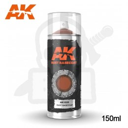 AK Interactive 1020 Rust Basecoat Spray 150ml