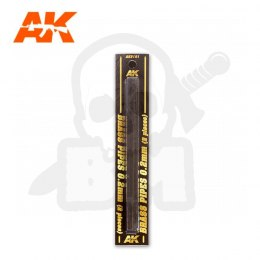 AK Interactive AK9101 Brass Pipes 0,2mm, 2 Units