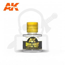AK Interactive AK12001 Quick Cement Extra Thin