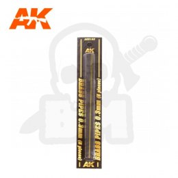 AK Interactive AK9102 Brass Pipes 0,3mm 5 Units