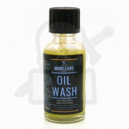 Modellers World - Oil Wash - Light moss green 30ml