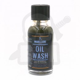 Modellers World - Oil Wash - Dark for Panzer Grey 30ml