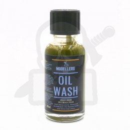 Modellers World - Oil Wash - Moldy green 30ml