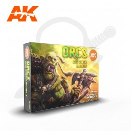 AK Interactive AK11600 Orcs And Green Creatures Set