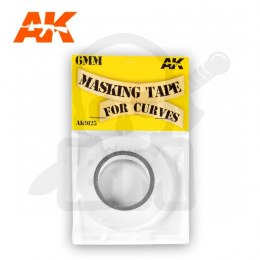 AK Interactive AK9125 Masking Tape for Curves 6 mm