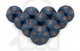 Kostki K10 Chessex Dusty Blue 10 szt.