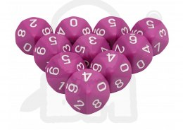 Kostki K10 Chessex Light Purple 10 szt.
