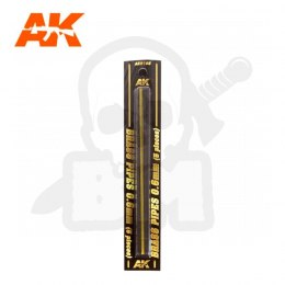 AK Interactive AK9105 Brass Pipes 0,6mm 5 Units