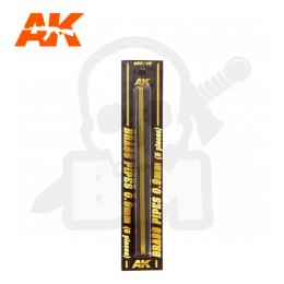 AK Interactive AK9108 Brass Pipes 0,9mm 5 Units