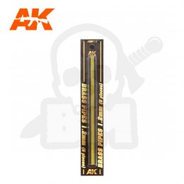 AK Interactive AK9111 Brass Pipes 1,2mm 5 Units