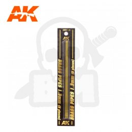 AK Interactive AK9112 Brass Pipes 1,3mm 5 Units