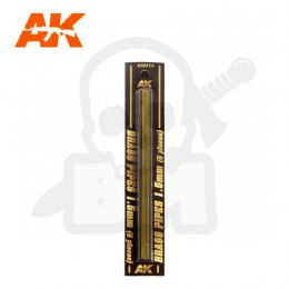 AK Interactive AK9114 Brass Pipes 1,5mm 5 Units